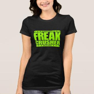 異常な粉砕機-警告します: 超人的なストリート・ファイター Tシャツ