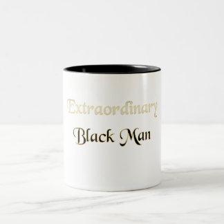 異常な黒人男性 ツートーンマグカップ