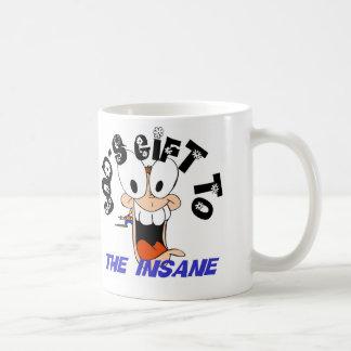 異常のへの神のギフト コーヒーマグカップ