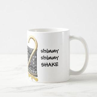 異常震動の異常震動の振動のマグ コーヒーマグカップ