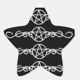 異教のな力のステッカー 星シール