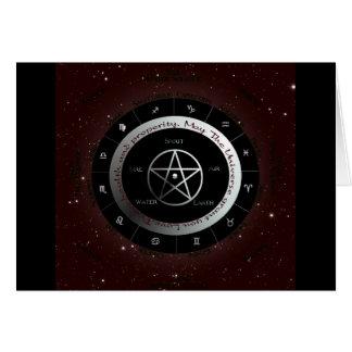 異教のな要素の車輪 カード