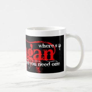 異教徒を捜すこと コーヒーマグカップ