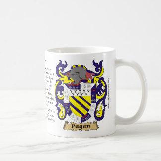 異教徒、起源、意味および頂上のマグ コーヒーマグカップ
