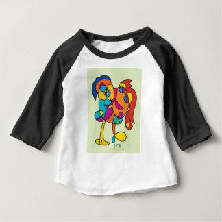 異様で幸せな創造物の多彩なイラストレーションのnoaのisra ベビーTシャツ