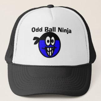 異様な球の忍者 キャップ