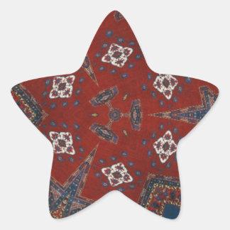 異様な芸術の装飾用のデザイン 星シール