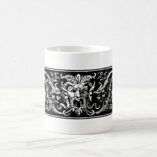 異様な鬼のビクトリア時代の人の芸術 コーヒーマグカップ