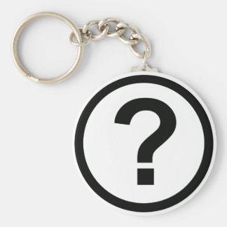 疑門符Keychain キーホルダー