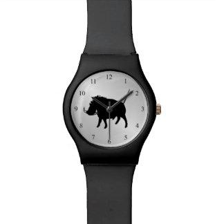 疣のブタの腕時計 腕時計