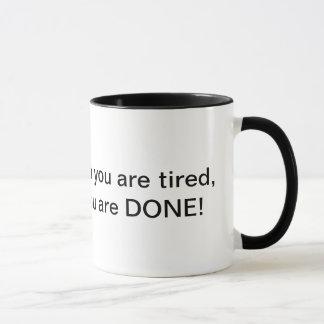疲れたやる気を起こさせるなマグであるとストップ マグカップ