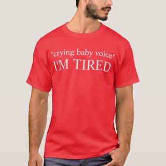 疲れたベビー Tシャツ