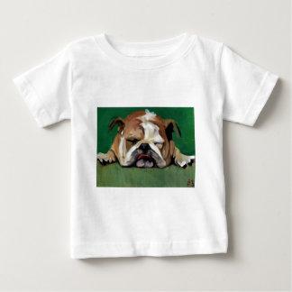疲労したののための残り ベビーTシャツ