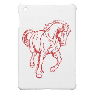 疾走するばん馬 iPad MINIカバー