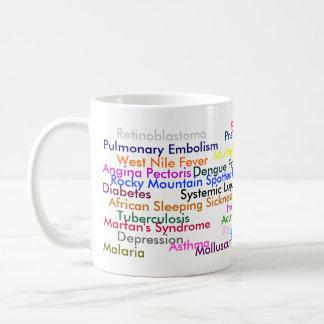 病気のマグ コーヒーマグカップ