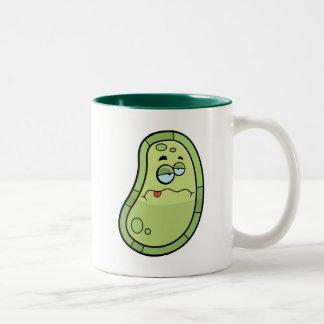 病気の細菌 ツートーンマグカップ