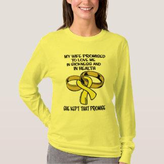 病気または健康の…子宮内膜症 Tシャツ