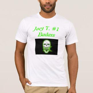 病気skull2、Joey T. #1 Badass Tシャツ