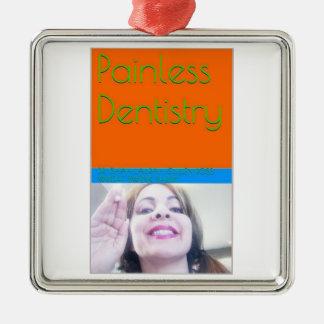 痛みのない歯科のeBookか表紙 メタルオーナメント