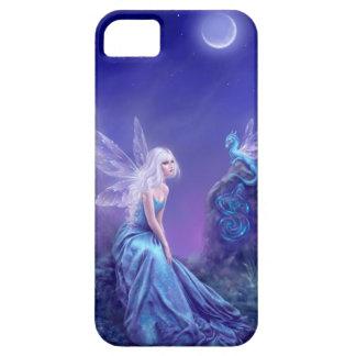 発光性の妖精及びドラゴンの芸術のiPhoneの5/5S場合 iPhone 5 ベアリーゼアケース