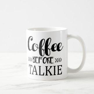発声映画の前のコーヒー コーヒーマグカップ