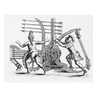発射のやりのためのローマの兵器 ポストカード