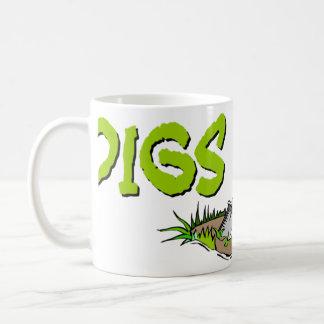 発掘の土のマグ2 コーヒーマグカップ