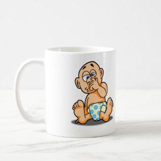 発掘の鼻のマグ コーヒーマグカップ