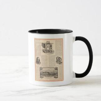 発明家のスケッチのMachingを縫っているHowe マグカップ