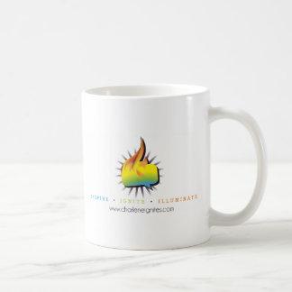 発火します照らしますマグをインスパイア コーヒーマグカップ