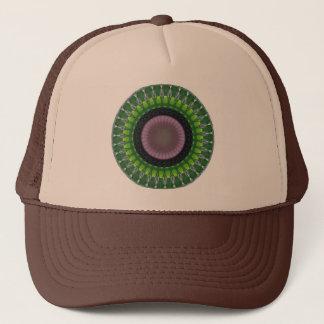発生の万華鏡のように千変万化するパターンの帽子 キャップ
