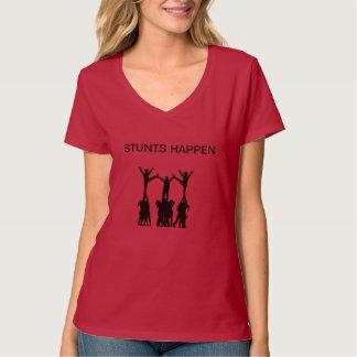 発育阻害はワイシャツ応援の起こります Tシャツ