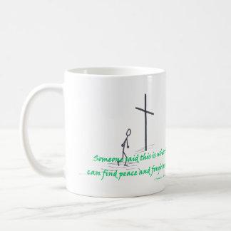 発見の平和 コーヒーマグカップ
