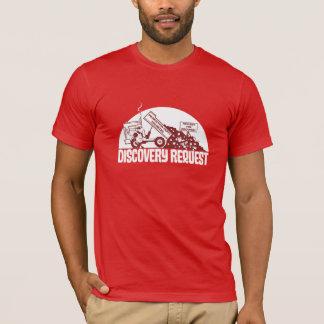 発見の要求 Tシャツ