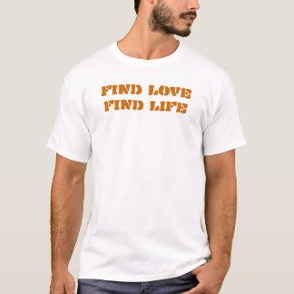発見愛発見の生命 Tシャツ