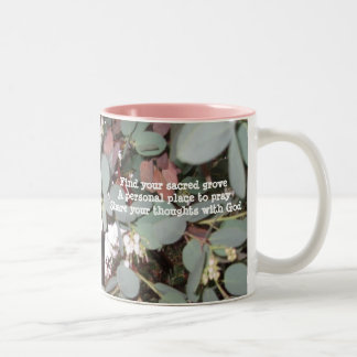 発見果樹園の俳句のコップ ツートーンマグカップ