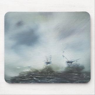発見海の霧の大尉の清算 マウスパッド