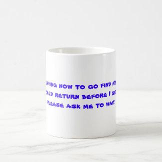 発見自分自身のマグ コーヒーマグカップ