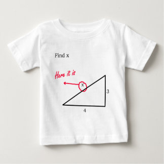 発見X ベビーTシャツ