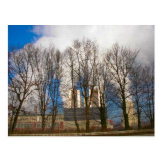 発電所の汚染2 ポストカード