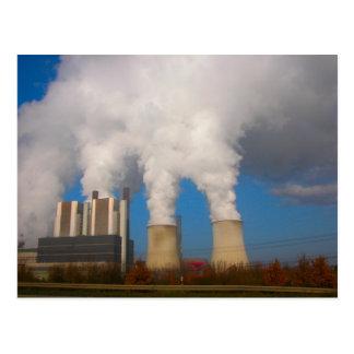 発電所の汚染5 ポストカード