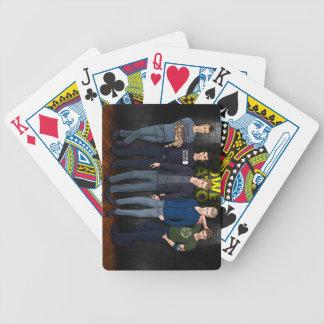発電所の男の子のカジノカード バイスクルトランプ