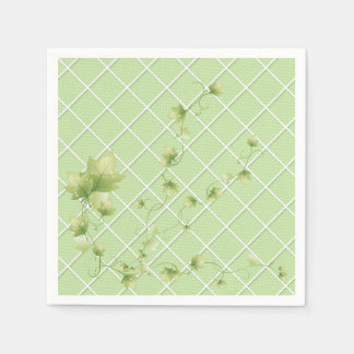 登山のキヅタの園遊会の紙ナプキン スタンダードカクテルナプキン