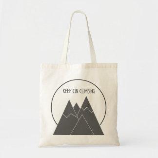 登山のトートバックで保って下さい トートバッグ