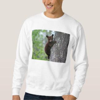登山の小熊 スウェットシャツ