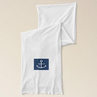 白いいかり スカーフ