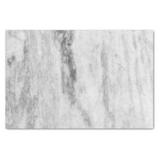 白いおよび灰色の大理石の質パターン 薄葉紙