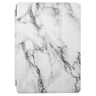 白いおよび灰色の大理石パターン iPad AIR カバー