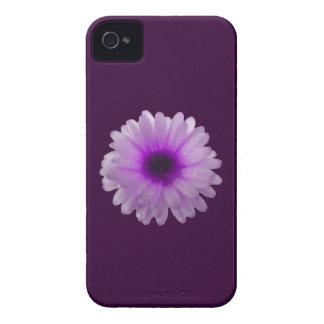 白いおよび紫色のマリーゴールドのiphone 4ケース Case-Mate iPhone 4 ケース