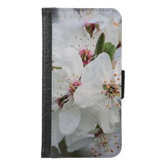 白いさくらんぼの開花 GALAXY S6 ウォレットケース